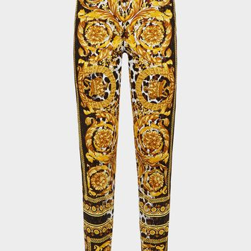 Versace Wild Baroque SS'92 Print Jeans for Women | US Online Store