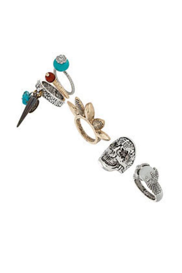 Skull Ring Pack - Jewelry  - Accessories