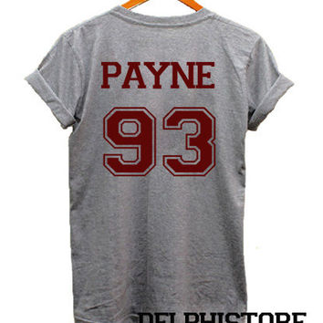 liam payne shirt 1D one direction shirt t shirt tshirt tee shirt sport grey printed unisex size (DL-63)
