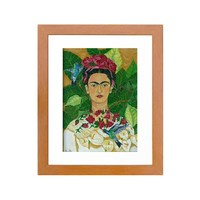 Frida in Heaven Art Print