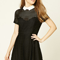 Eyelet Sheath Dress