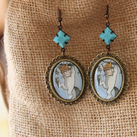 Where The Wild Things Are Earrings - MAX - Storybook Earrings