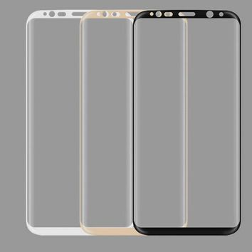 3D Full Cover Tempered Glass For Samsung S8 S8 plus Screen Protector Film Protection Full Coverage For Galaxy S8/S8Plus