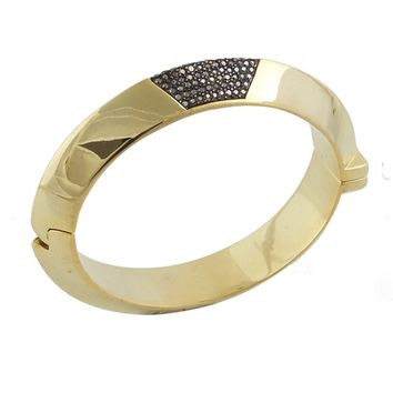 House of Harlow 1960 Jewelry Modern Revival Hinged Cuff