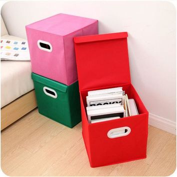 CREYUG3 Home Decor Bedroom Books Clothings Paper Ikea Storage Box [6395669380]