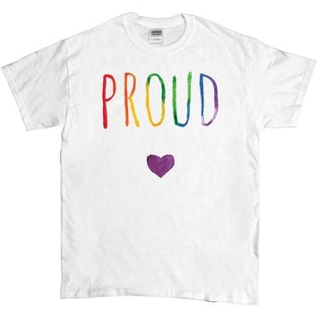 Proud Watercolor -- Unisex T-Shirt