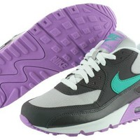 Nike Air Max 90 2007 (GS) 345017-014 Grey Teal Purple Classic Shoes Youth Women