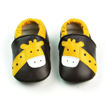 Leather Baby Infant Handcrafts Shoes [4919350916]