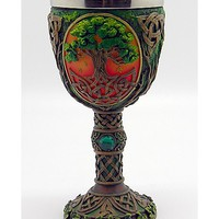 Brown Tree of Life Goblet - Spencer's