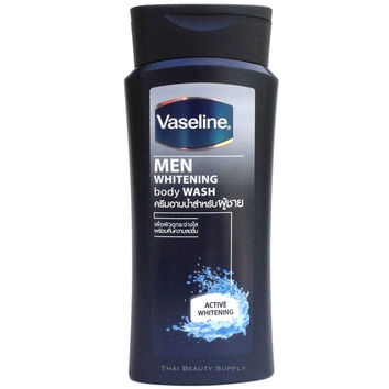 Vaseline Men Skin Whitening Body Wash Shower Cream 200ml