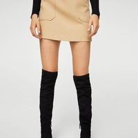 Pocket skirt - Women | MANGO USA