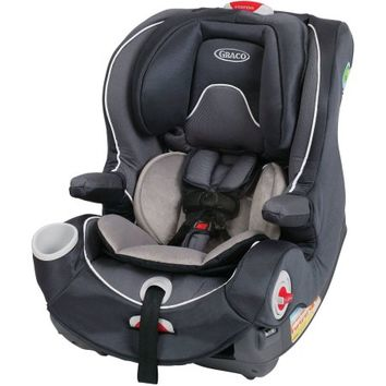 Graco Smart Seat All-in-One Convertible Car Seat, Rosin - Walmart.com