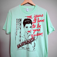RIHANNA - Unapologetic, Mr. Jesus T-Shirt (XS-XL)