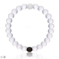 Lokai for a Balanced Life (White) Bracelet