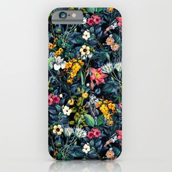 Exotic Garden iPhone & iPod Case by Burcu Korkmazyurek