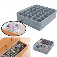 Collapsible Folding Closet Organizer Storage Boxes