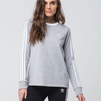 ADIDAS 3 Stripes Womens Long Sleeve Tee