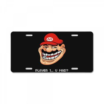 player 1 (2) License Plate
