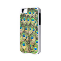 Peacock iPhone 6 Plus 6 5S 5 5C 4 Rubber Case