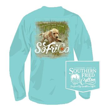Boone Doc Long Sleeve Tee in Mason Jar by Southern Fried Cotton