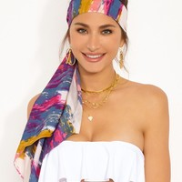 Watercolor Headscarf