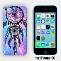 for iPhone 5C - Dreamcatcher - Dream Catcher - Galaxy Dreamcatcher - Space Dreamcatcher - Hipster Dreamcatcher - Ship from Vietnam - US Registered Brand