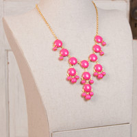 Bauble Necklace - Pink