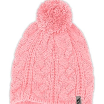 The North Face Women's Accessories Hats & Scarves BIGSBY POM POM BEANIE