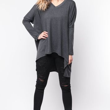 Windblown Wishes Top in Ash