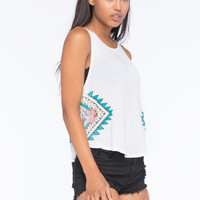 BILLABONG Zigzag Womens Tank | Graphic Tanks
