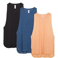 Yoga Tops Activewear Workout Clothes Sports Racerback Style Tank Tops for Women