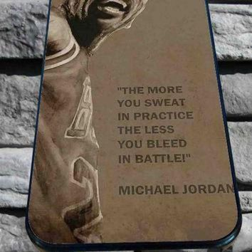 CREYUG7 Michael Jordan Quote for iPhone 4/4s, iPhone 5/5S/5C/6, Samsung S3/S4/S5 Unique Case *