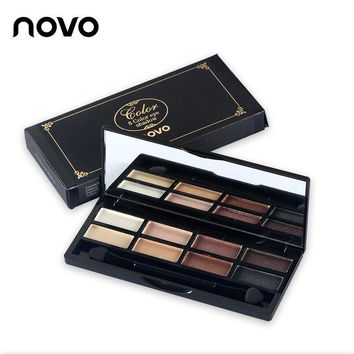 Charm 8 color eye shadow earth color pearl eye shadow matte eight color [11489269516]