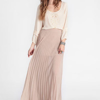 Desert Sand Maxi Skirt - $38.00 : ThreadSence, Women's Indie & Bohemian Clothing, Dresses, & Accessories