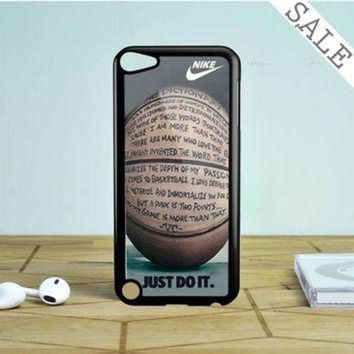CREYUG7 nike air jordan jump mint glitter iPod Touch 5 Case