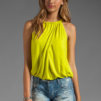 Trina Turk Imma Tank in Glowstick from REVOLVEclothing.com