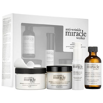 Sephora: philosophy : Anti-Wrinkle Miracle Worker® Miraculous Collection : skin-care-sets-travel-value