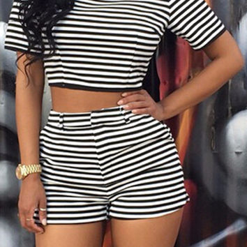 Casual Striped Co-Ord