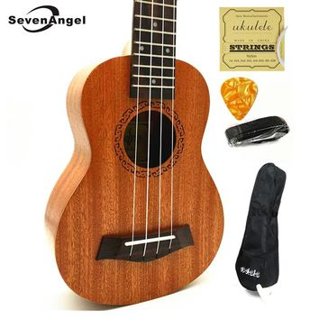 SevenAngel Ukulele Concert Soprano Tenor Ukelele Mini Hawaii Acoustic Guitar electric Ukelele Guitarra Cavaquinho Pick Up EQ