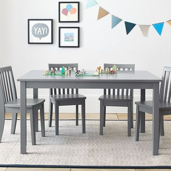 Carolina Large Table & 4 Chairs Set