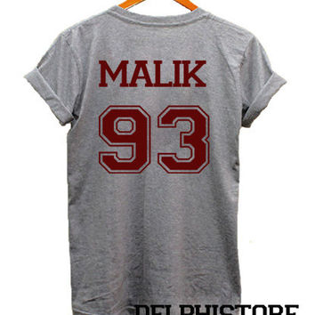 zayn malik shirt 1D one direction shirt t shirt tshirt tee shirt sport grey printed unisex size (DL-61)