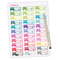 Planner Stickers Bill Due Stickers