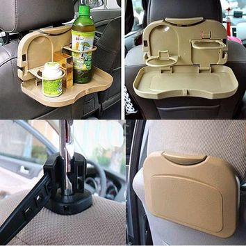 car cup holder car drink holder folding table debris rack automotive supplies Car seat shelf Shelf in seats store content ark