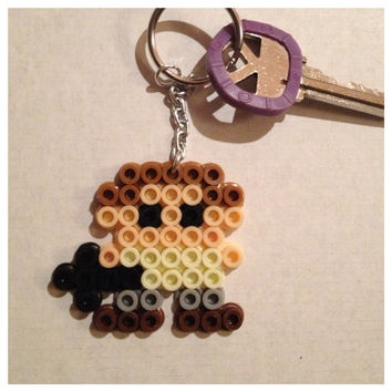 Daryl Dixon Pixel Keychain by K8BitHero on Etsy