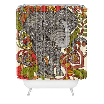Valentina Ramos Bo The Elephant Shower Curtain