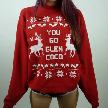 You Go Glen Coco Ugly Christmas Sweater