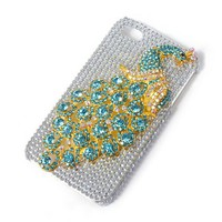 Bling Peacock iPhone Cover for 4 & 4S  | Claire's