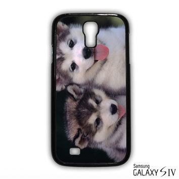Siberian Husky Puppies Dog for phone case Samsung Galaxy S3,S4,S5,S6,S6 Edge,S6 Edge Plus phone case
