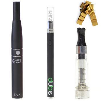 DV2 Vaporizer + Dube Disposable Vaporizer + Invisible Tank