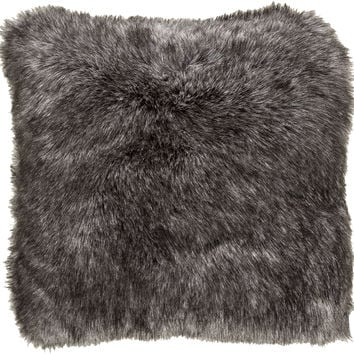 Surya Asena Throw Pillow Black, Neutral